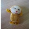 Monkey Springing Keychain / Display / Toy
